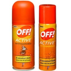 OFF! Active hyttysaerosoli 100 ml